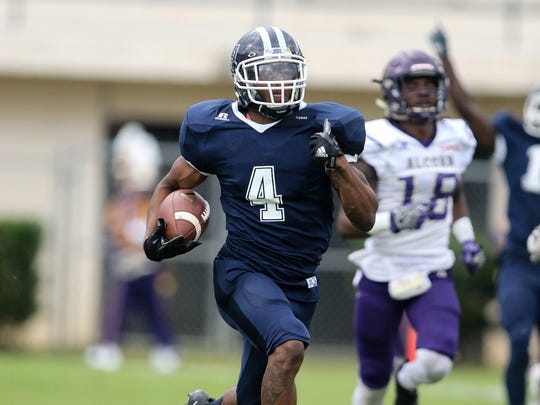 Tyrell Kennedy scored the only the touchdown of the game as JSU went on the defeat it's arch rival Alcorn 7-3.