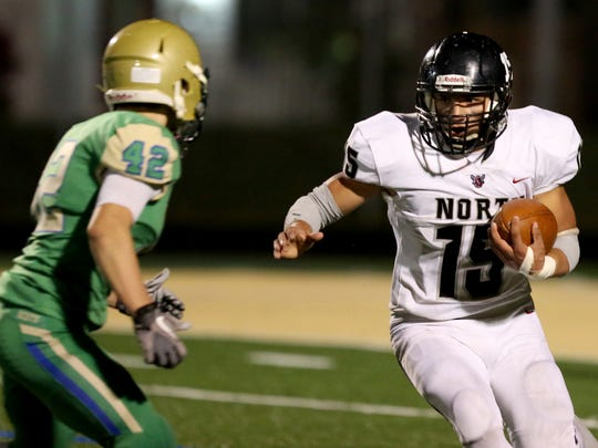 North Salem's Rigo Padilla rushed for 1,602 yards and 15 touchdowns this season.