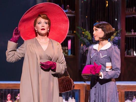 Teri Hansen as Madame Baurel and Allison Walsh as Lise