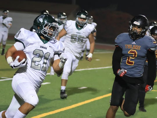Tulare Union hosts Dinuba in a Central Section Division