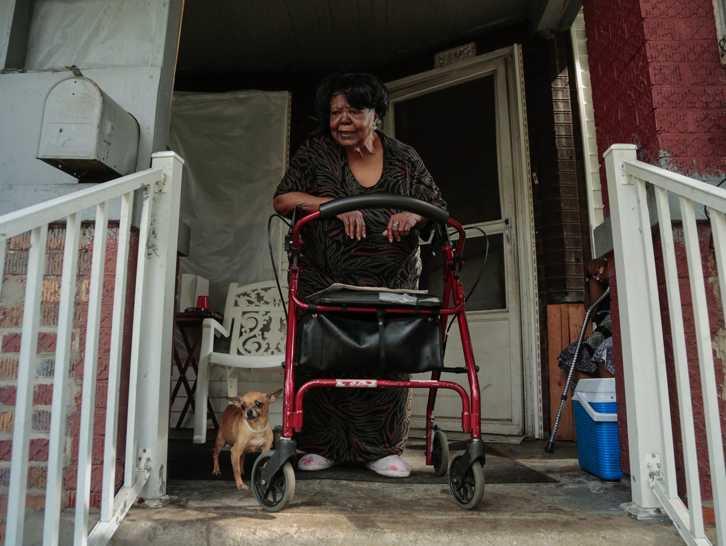 """The school that was up here, they done tore that down. The few houses on the street, they done tore them down. And now they're almost to my church -- 2nd Chance -- right around the corner,"" said 85-year-old Iola Patterson, as she stood on her front porch. With a new bridge to Canada slated to disrupt the neighborhood, the city is offering Delray homeowners like her a chance to move to a free house in another neighborhood, along with up to $60,000 to renovate it."