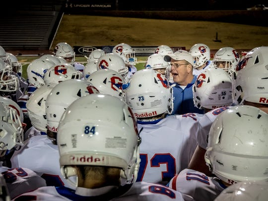 Graham coach Kenny Davidson and the Steers are the state semifinals for the fourth time in six seasons.