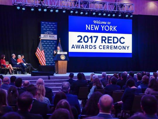 Gov. Andrew Cuomo announces the 2017 Regional Economic