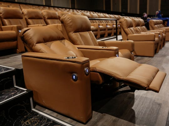 The Super EMAX auditorium, which seats 300, has powered
