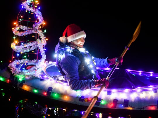14th Annual Winter Solstice Illuminata Regatta: Light up your non-motorized boat with holiday lights and float the Riverfront Slough, or watch from Riverfront Park, 5:30 to 7 p.m. Dec. 15, Salem Riverfront Park, 101 Front St. NE, Salem. Free.