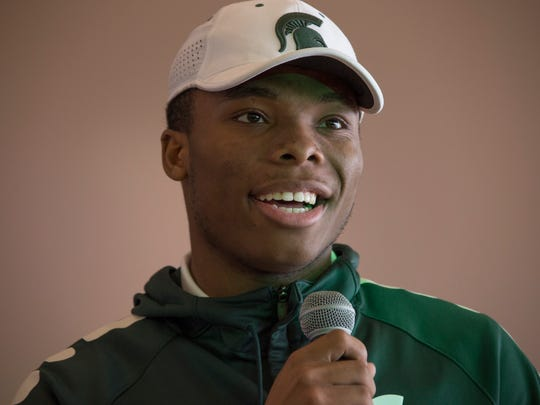 Detroit Cass Tech's Kalon Gervin, who is signing with