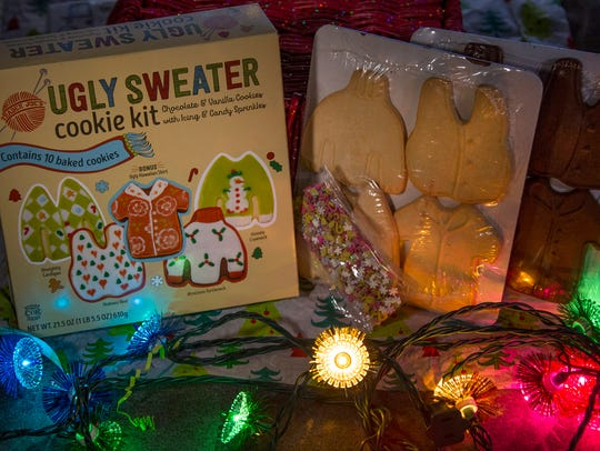 Ugly sweater cookies! Mandi Wright/Detroit Free Press