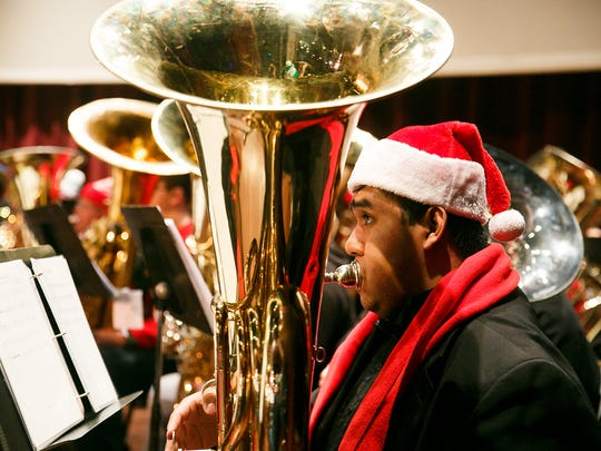 The 27th annual TubaChristmas, featuring traditional carols performed on tubas and euphoniums, will be presented Dec. 16 by Heidelberg University's School of Music and Theatre.
