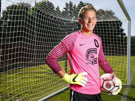 Corban goalkeeper Jordan Farr, a Cascade High School graduate, played a key role for the Warriors last season as they reached the NAIA National Tournament for a fifth consecutive year.