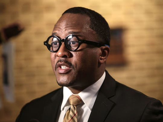 Former Michigan State Representative Brian Banks in March 2017.