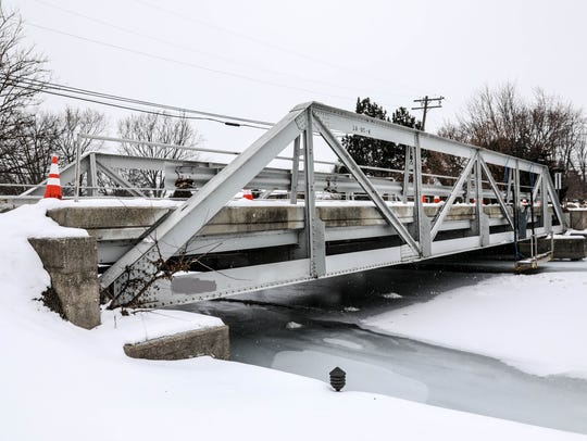 Swan Island Bridge over the Swan channel in Grosse Ile.