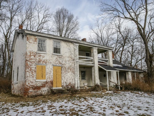 A historic home from the 1800s is now in jeopardy.