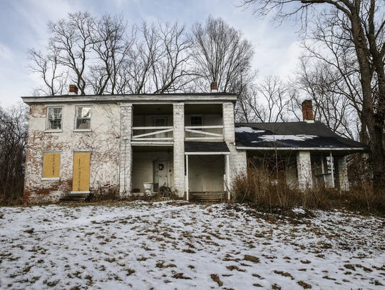 A historic home from the 1800's is now in jeopardy.