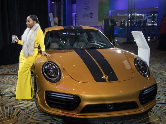 Luxury Vehicle: High-end Cars Draw Pre-show Crowd To Cobo