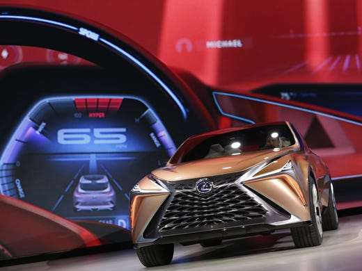 Lexus Previews Luxury Crossover With LF Limitless Concept - Lexus car show