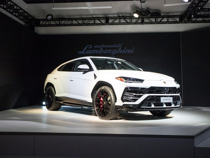 Lamborghini unveils the 2019 Lamborghini Urus SUV at