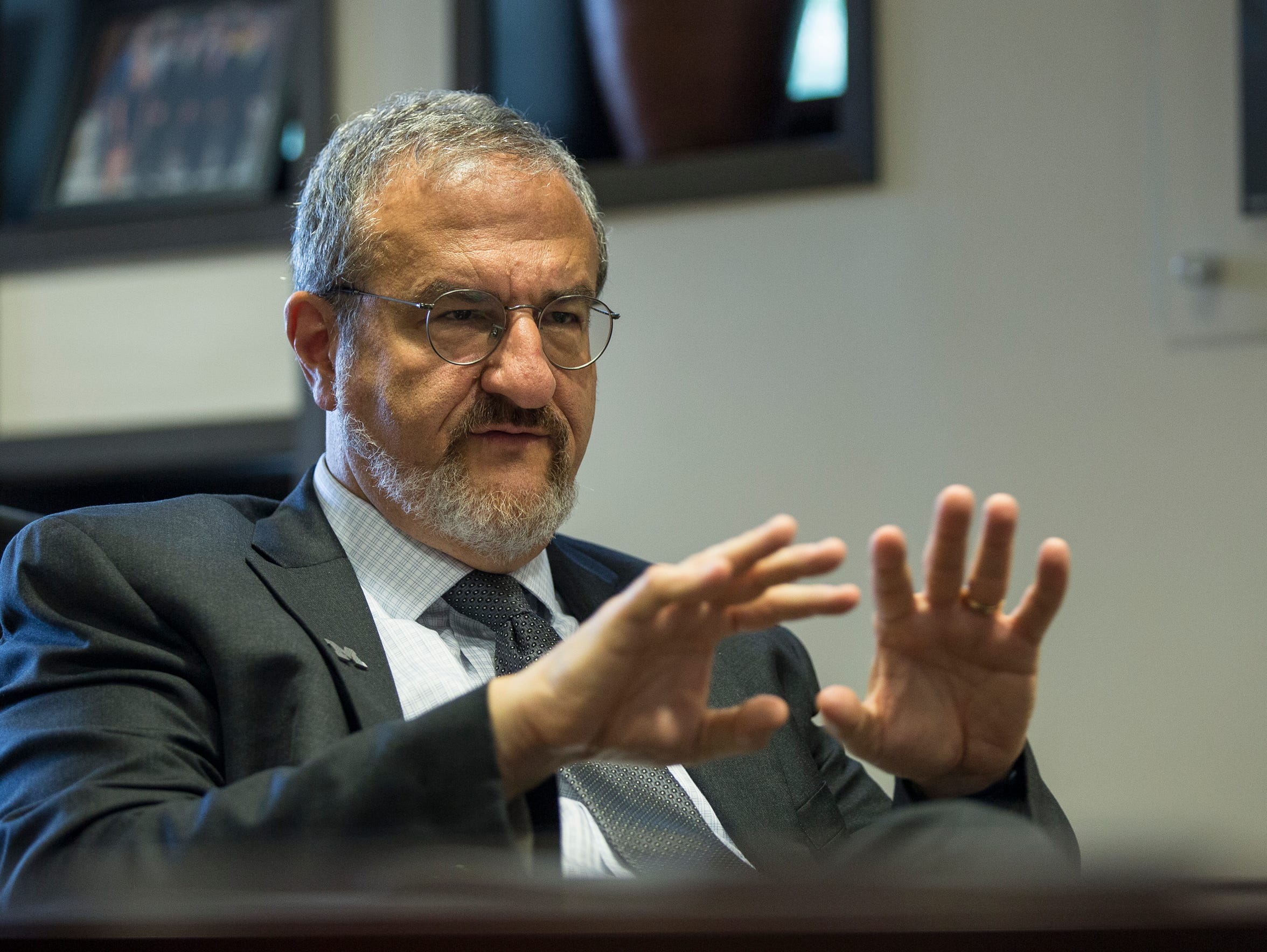 Mark Schlissel, president of the University of Michigan,