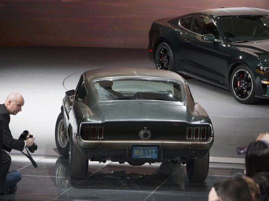 The original 1968 Mustang in the Steve McQueen movie