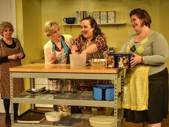 """Church Basement Ladies"" (from left) Mavis (Christine"