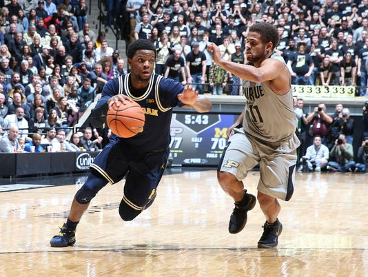 NCAA Basketball: Michigan at Purdue