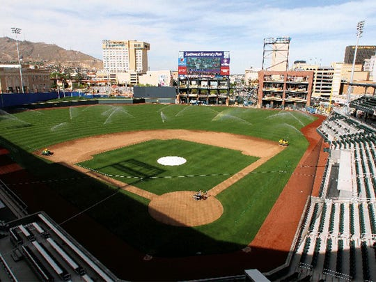 Southwest University Park hosts various entertainment events, as well as El Paso Chihuahuas baseball.