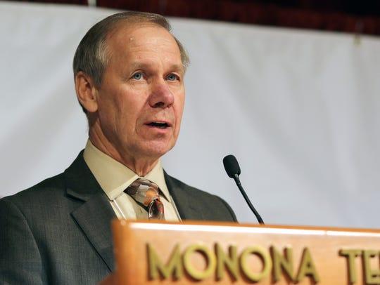 Wisconsin Farm Bureau Federation President Jim Holte