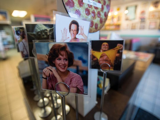 Memorabilia from the 1980's is displayed on Tuesday, Jan. 23, 2018, at Totally 80's Pizza & Museum in Fort Collins, Colo.