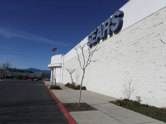 The Mt. Shasta Mall has plans to redevelop the Sears building into multiple spaces that would include up to six new stores.