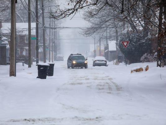 michigan snow totals see how much metro detroit has gotten