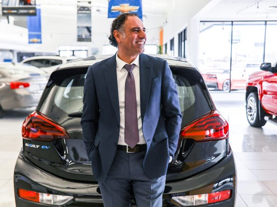 Ali Reda, a car salesman at Les Stanford Chevrolet and Cadillac Inc., sold 1,582 vehicles in 2017 at the dealership in Dearborn, Mich. where he is photographed on Friday, Feb. 16, 2018. The Guinness Book of World Records lists a 1973 record holder at 1,425 set in 1973. Reda's employer submitted Reda's sales to Guinness for