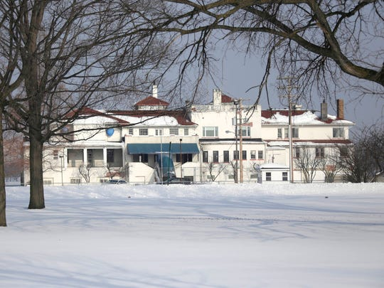 The Belle Isle Boat House, formerly known as the Detroit Boat Club on Belle Isle in Detroit on Feb. 14, 2018.