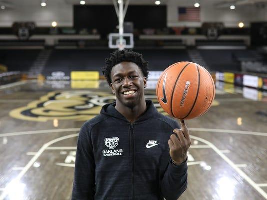 Kendrick Nunn, Oakland basketball