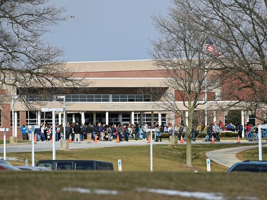 Students at Dallastown Area High School participate