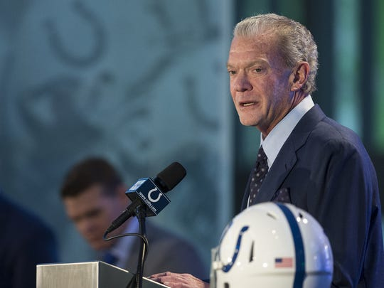 Indianapolis Colts owner and CEO Jim Irsay turned down an offer to sell his team.