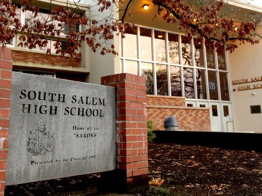 South Salem High School in Salem. Photographed on Thursday,