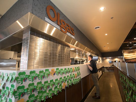 This new Olga's Kitchen, located in Taylor, shows off