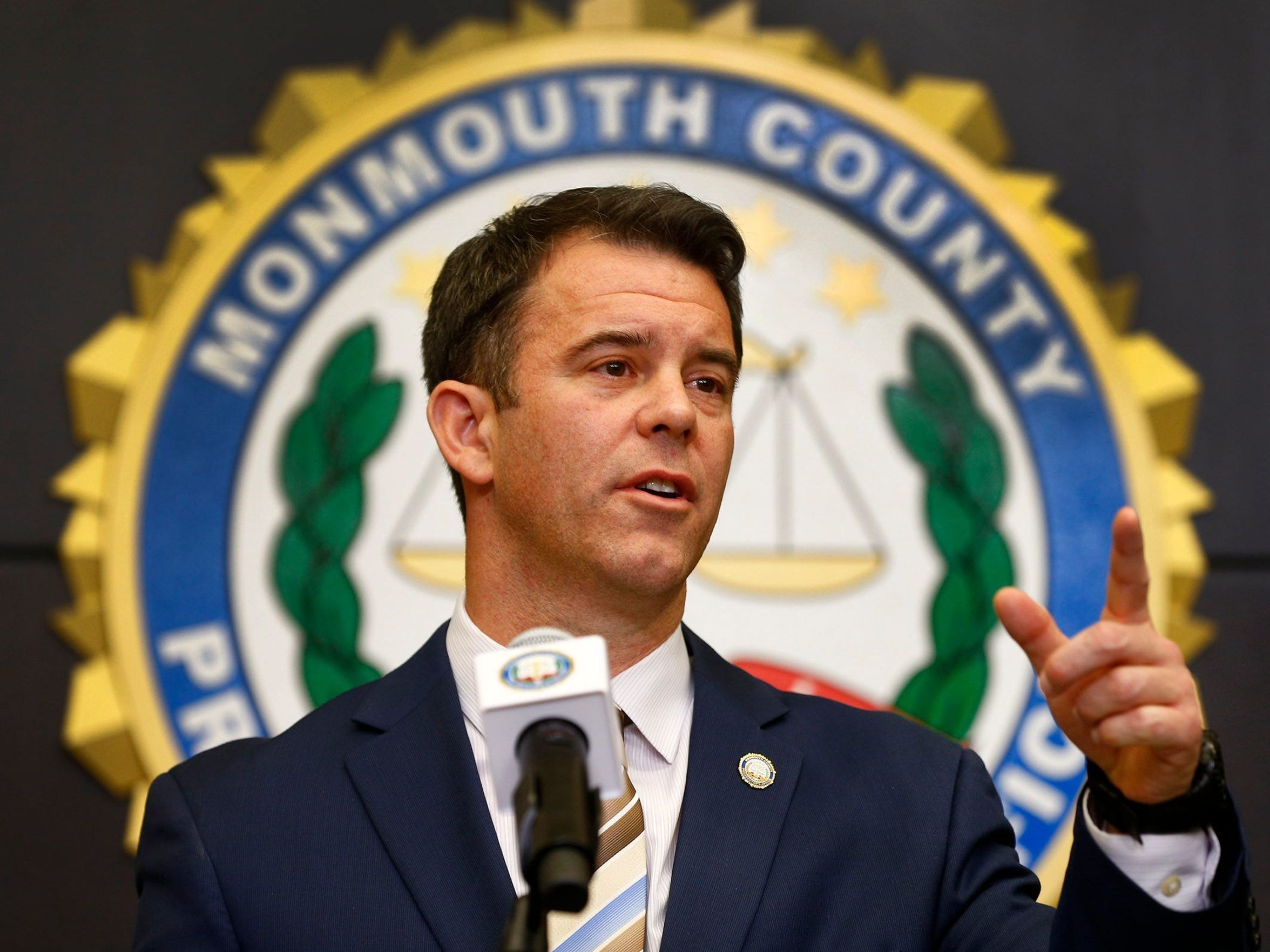 Monmouth County Prosecutor Christopher Gramiccioni.