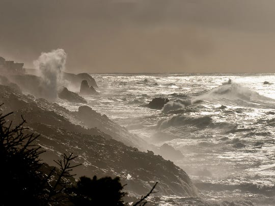 High winds bring incredible sights to the Oregon Coast. But visitors are encouraged to be cautious.