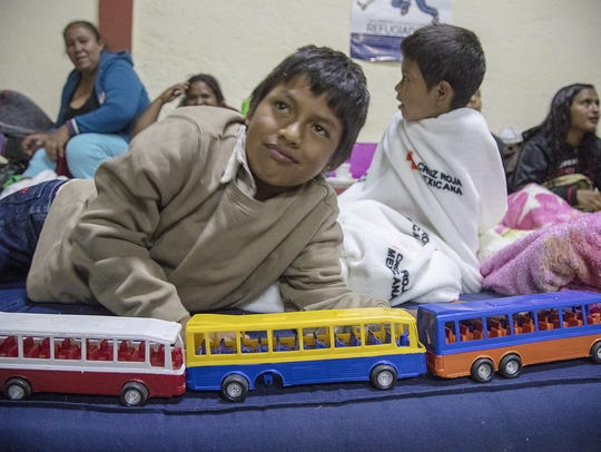 Anderson Cobach Zacarias, a 10-year-old from Guatemala