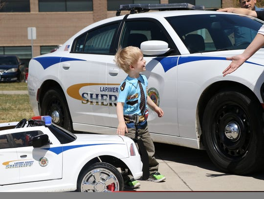 Wyatt, Larimer County deputy Billy Gentry's son, is
