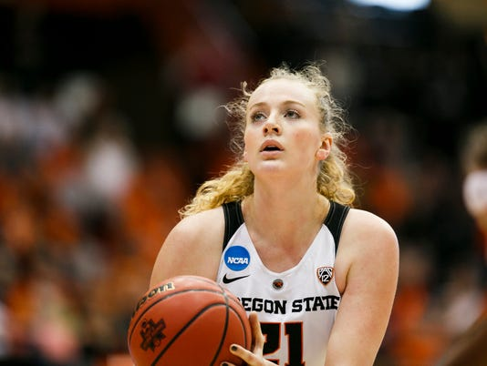 NCAA Womens Basketball: Long Beach St. at Oregon St.