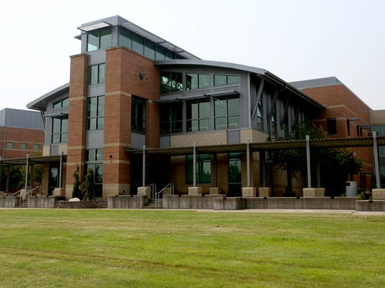 West Salem High School in West Salem. Photographed