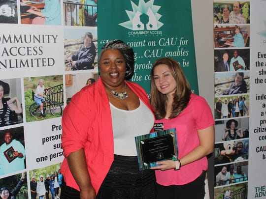 Community Access Unlimited (CAU) recently honored a