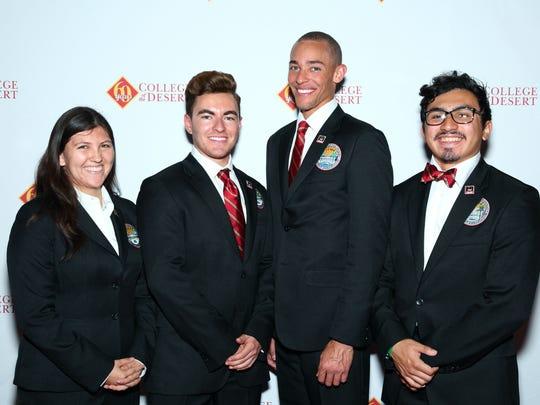 From left to right: Viviana Dominguez, Diego Maldez, Scott Releford, Arturo Delgado