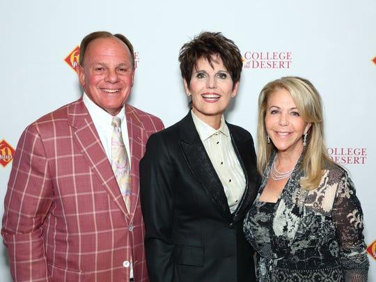 L-R Bob Goodfriend,  Lucie Arnaz, and  Wendy Goodfriend