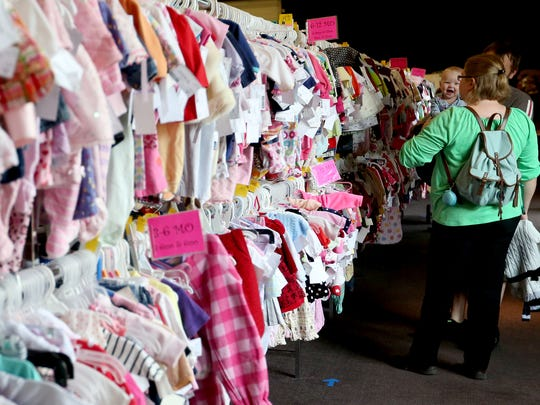 Baby's Bottom Dollar Sale: Huge four-day sale with consignment option available, 11 a.m. to noon May 2 (pre-sale), 10 a.m. to 7 p.m. May 3-5, Columbia Hall, Oregon State Fairgrounds, 2330 17th St. NE. Free, passes required for May 2 pre-sale. babysbottomdollarsale.com.