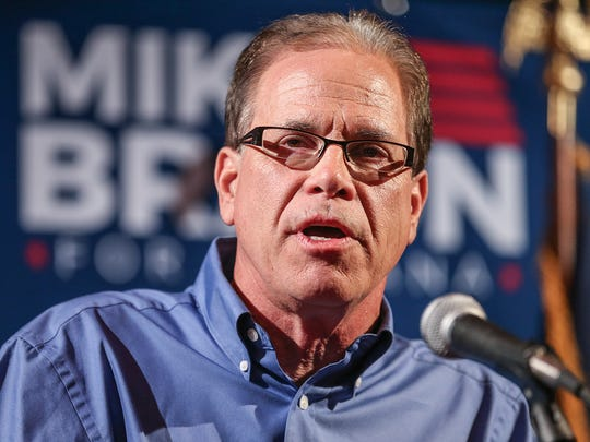GOP Senate candidate Mike Braun has criticized Sen. Joe Donnelly for not saying how he planned to vote on the Kavanaugh nomination.