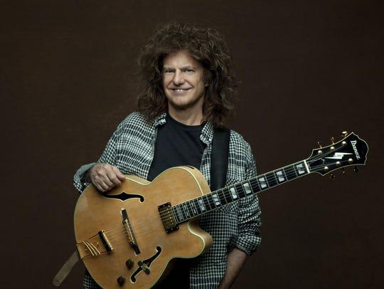 Jazz-rock guitar great Pat Metheny performs Oct. 21.