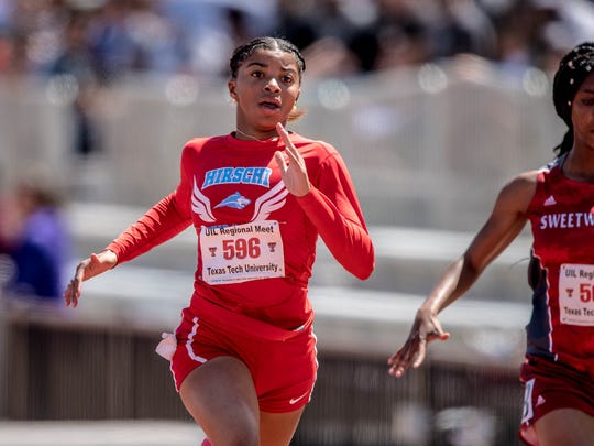 Hirschi's Breonna Campbell is ready for her first state track meet as she'll compete in the 100 as a freshman.
