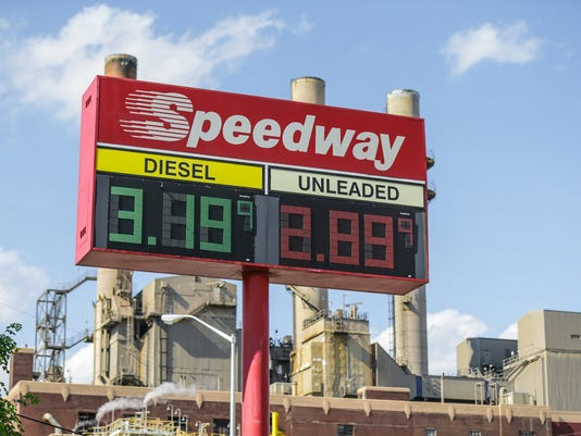 Gas prices are rising in Indiana